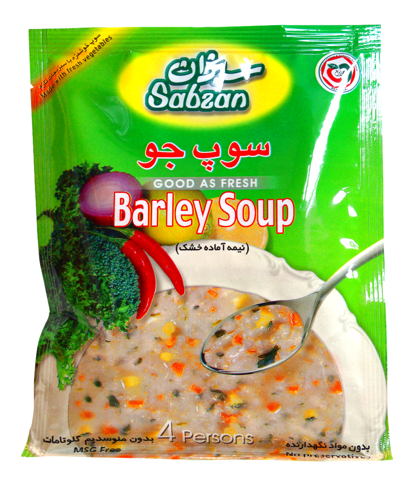 Suppe (Gerste) Sabzan 70g