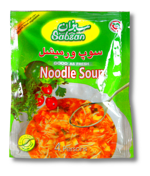Suppe (Nudeln) Sabzan 70g